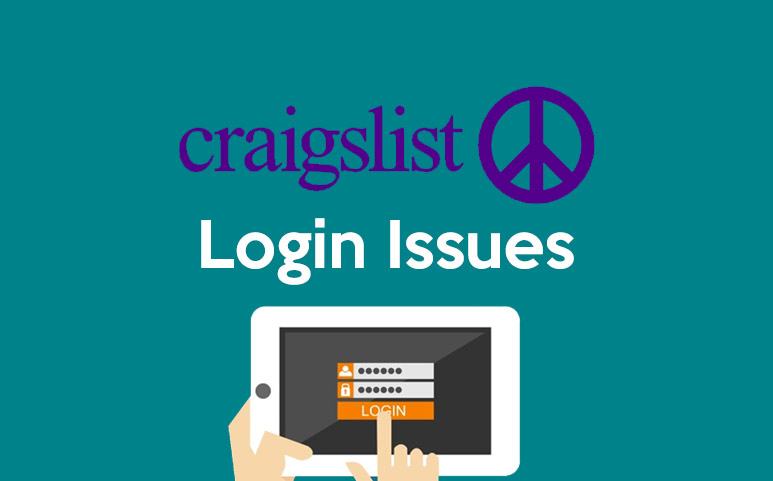 Craigslist Login Issues