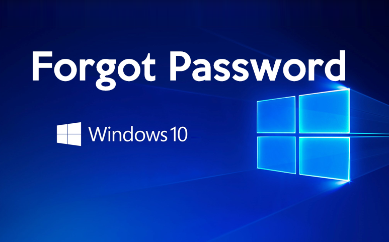 Forgot Password Windows 10